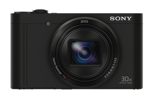 sony shows off engineering magic squeezes 30x lens and evf into compact camera dsc wx500 black front 1200