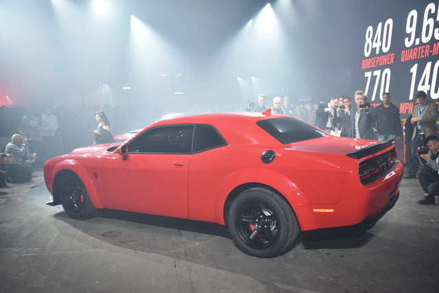 2018 dodge challenger demon news rumors teaser