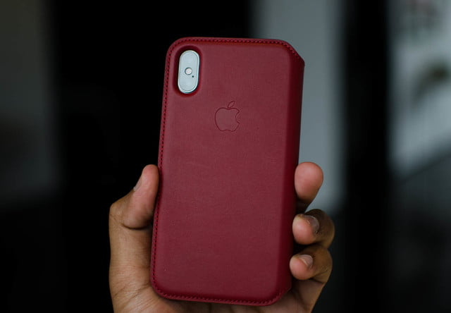 info for 2ee64 23535 Apple Debuts (RED) iPhone 8 and 8 Plus, Red Leather Case For iPhone ...