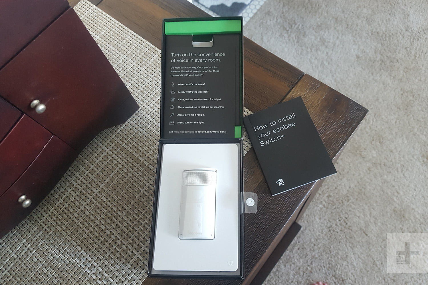 Ecobee Switch Review More Than Just A Digital Trends 3 Way Light Alexa Switchplus 1