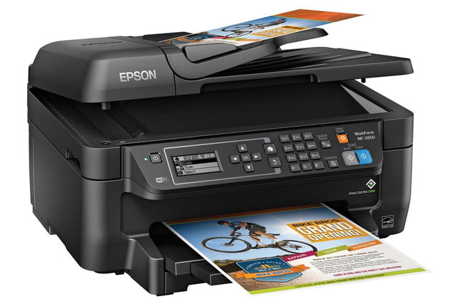 epson lowers price precisioncore inkjet tech new multifunction units workforce wf 2650 right angle
