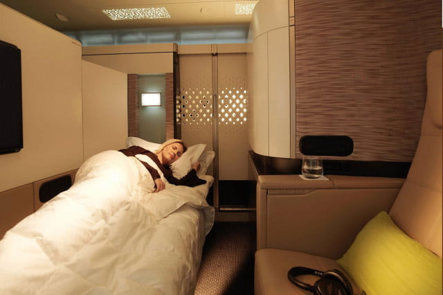 best first class airlines seats etihad airways apartment bed a380