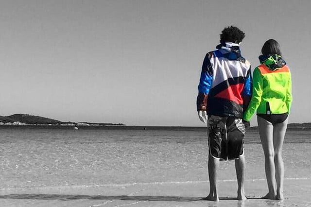 exkite clothing brand uses recycled kites create unique outdoor apparel 8