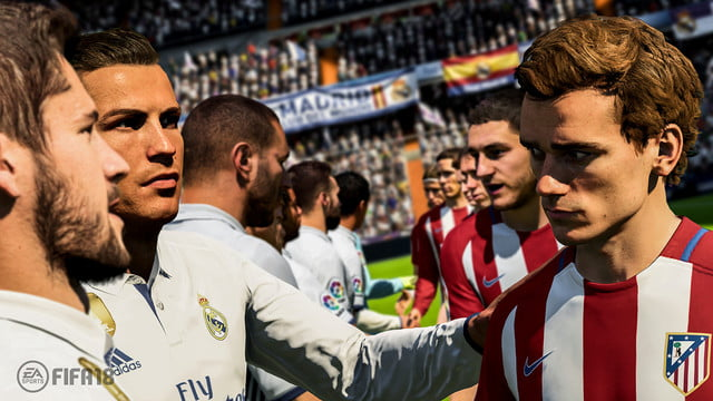 FIFA 18 Walk out
