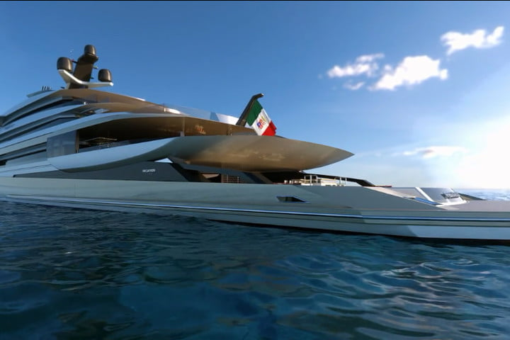 luxury yachts the worlds best super fincantieri private bay