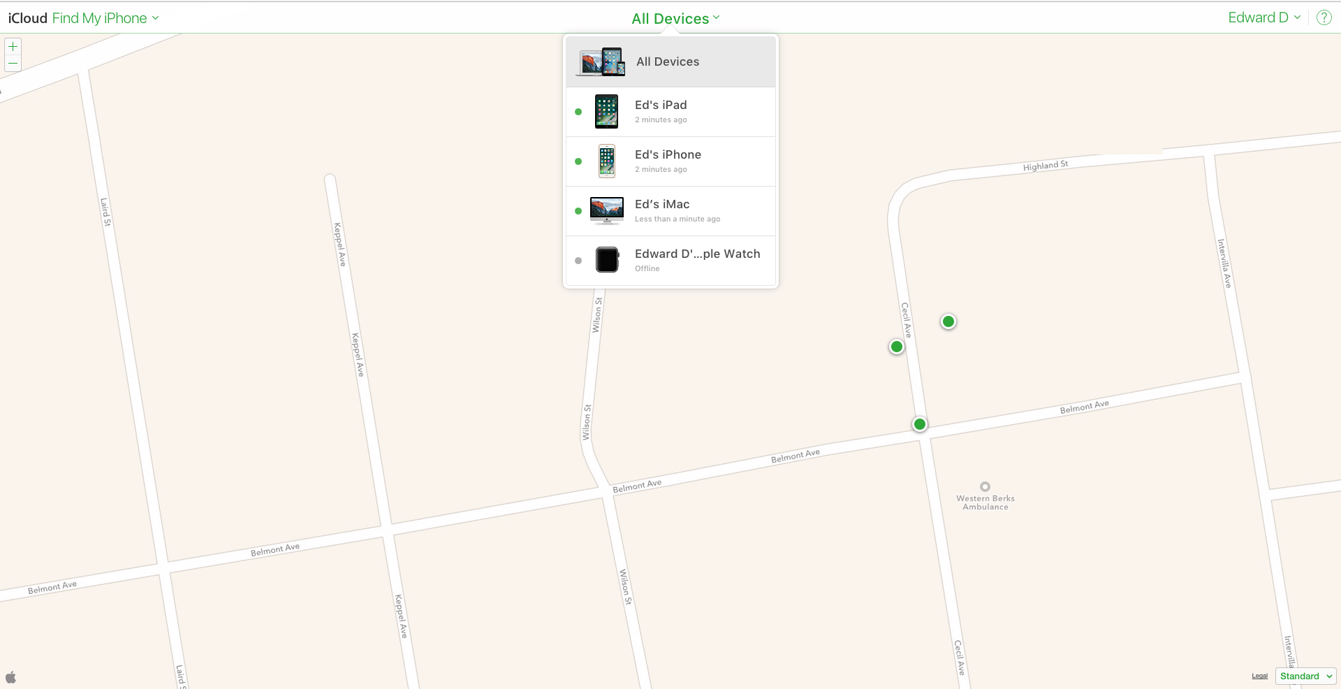 How to use find my iphone on your mac or another ios device step 6 take action how to use find my iphone biocorpaavc Choice Image