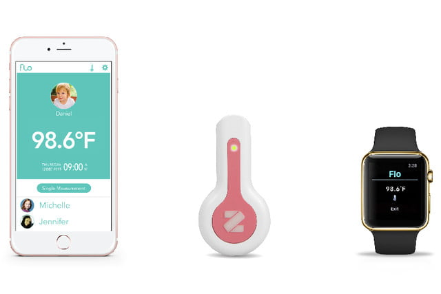 flo thermometer, infrared thermometer,
