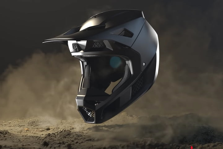 Fluid Inside's Fox Racing Helmet