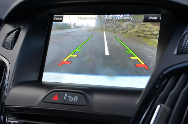 ford focus electric backup camera2