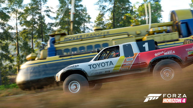 Forza Horizon 4 Hands-On Hover Craft Race