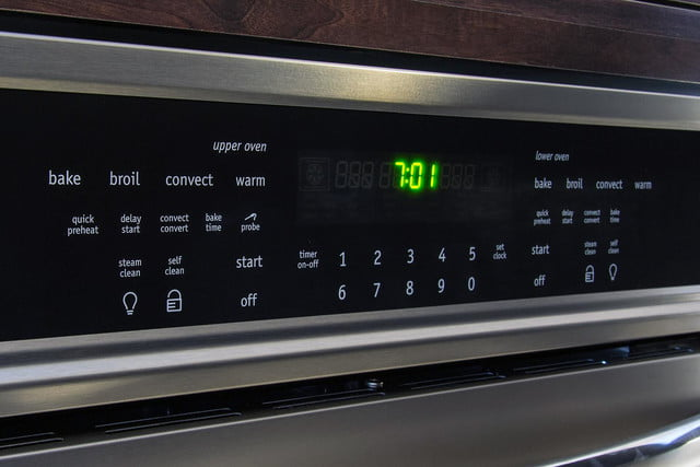 Frigidaire double oven FGET-3065PF control panel 1