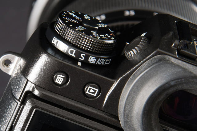 Fujifilm X-T1 camera review macro dial