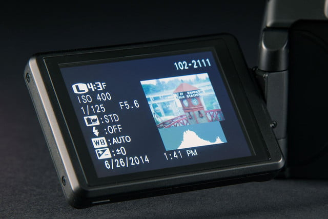 Fujifilm FinePix S1 screen out
