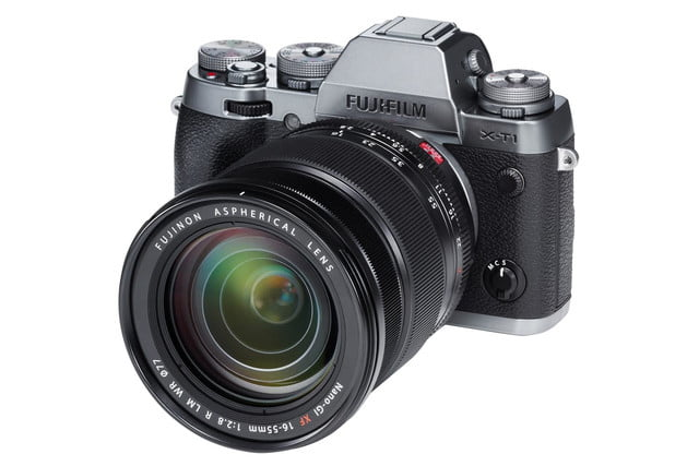 fujifilm makes smaller appearance ces 2015 reveals xf16 55mm f2 8 lens x t1gs