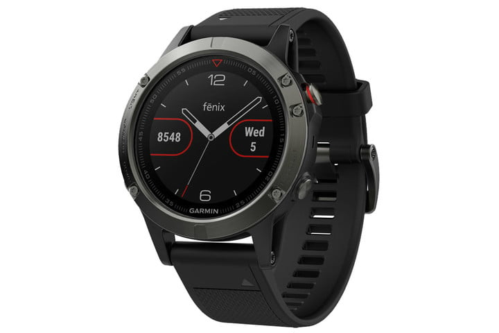 amazon slashes prices on garmin fenix 5 smartwatches for fathers day  slate gray with black band 1