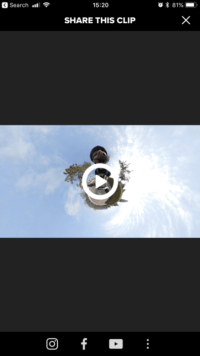 gopro fusion review go pro app screen share