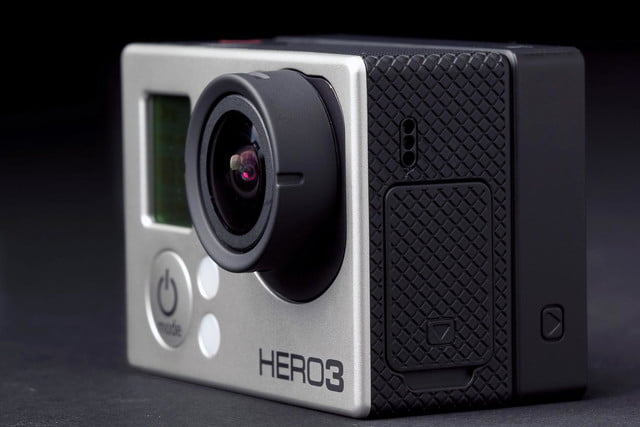 Gopro Hero3 Black Edition Camera Front Left
