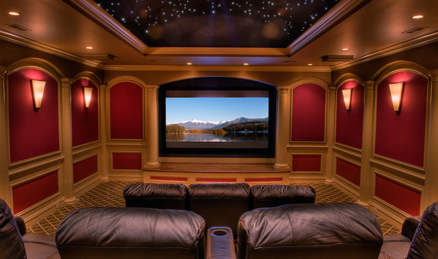 houses with amazing indoor slides greenville estate media room