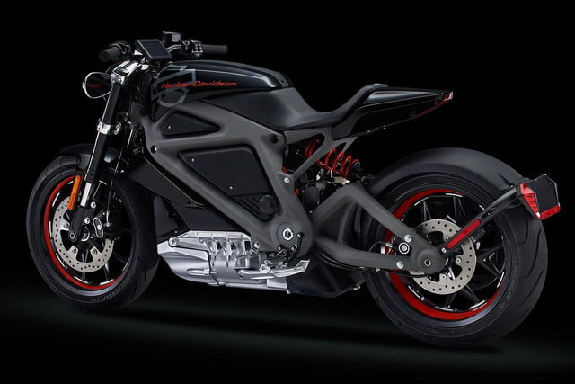 Harley-Davidson stuns with LiveWire electric motorcycle project