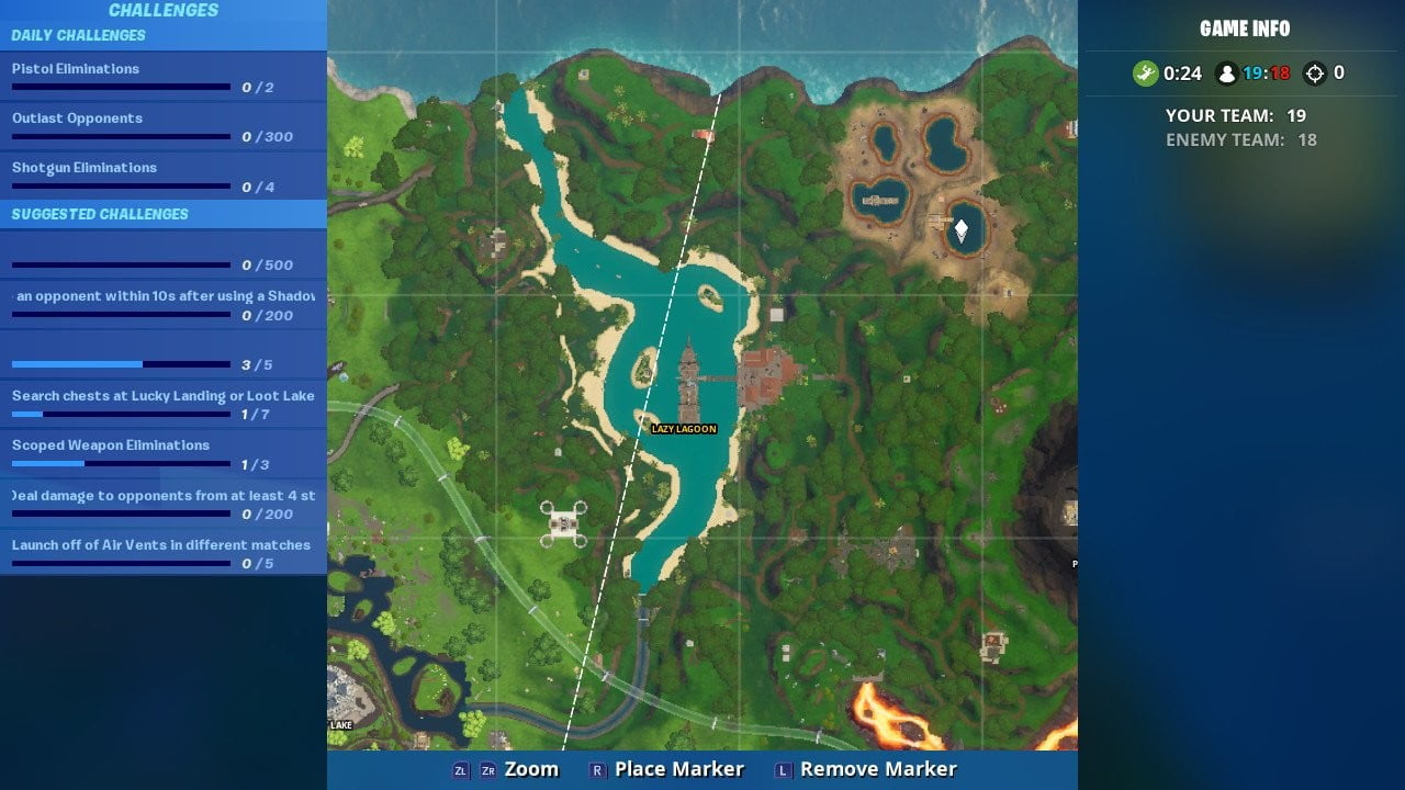 Fortnite Week 6 Challenge: Search ammo boxes at a Hot Spot