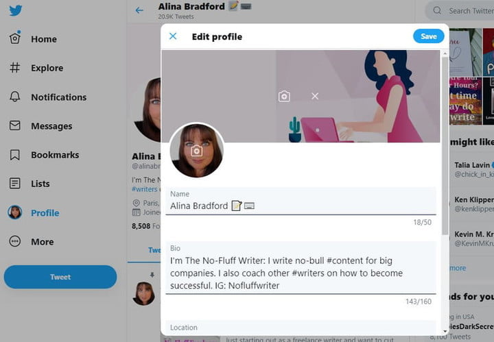 How to Change Your Twitter Name   Digital Trends