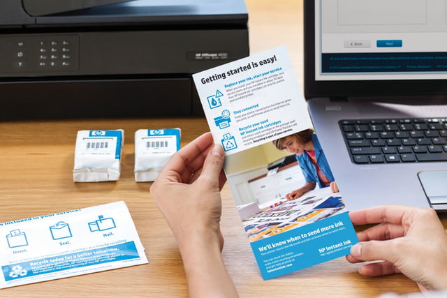 hp puts spotlight on instant ink refill program with new inkjet printers welcome kit 3