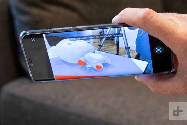 How To Use The 3D Live Maker App On The Mate 20 Pro | Digital Trends