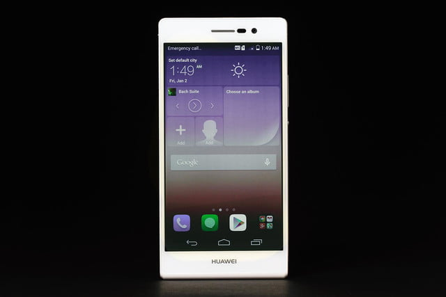 Huawei Ascend P7 review front 2