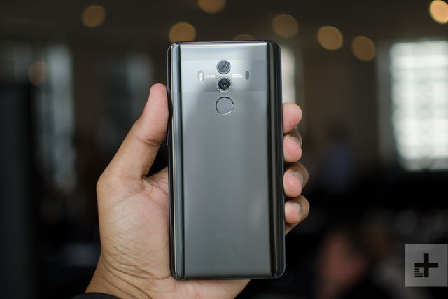 Huawei Mate 10 Pro review back full