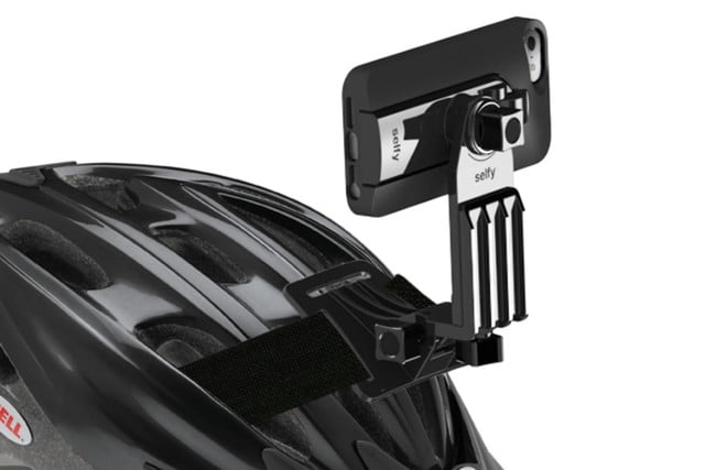 iluv smartphone case with built in remote shutter designed for the selfie obsessed selfy helmet 2