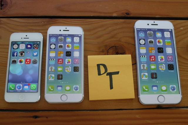 Iphone 6 Plus Size Comparison Heres How Big It Is Digital Trends