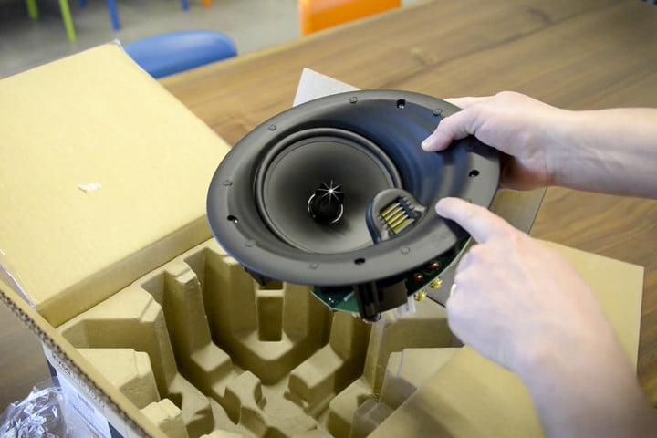 Speaker size matters | How to install Dolby Atmos ceiling speakers