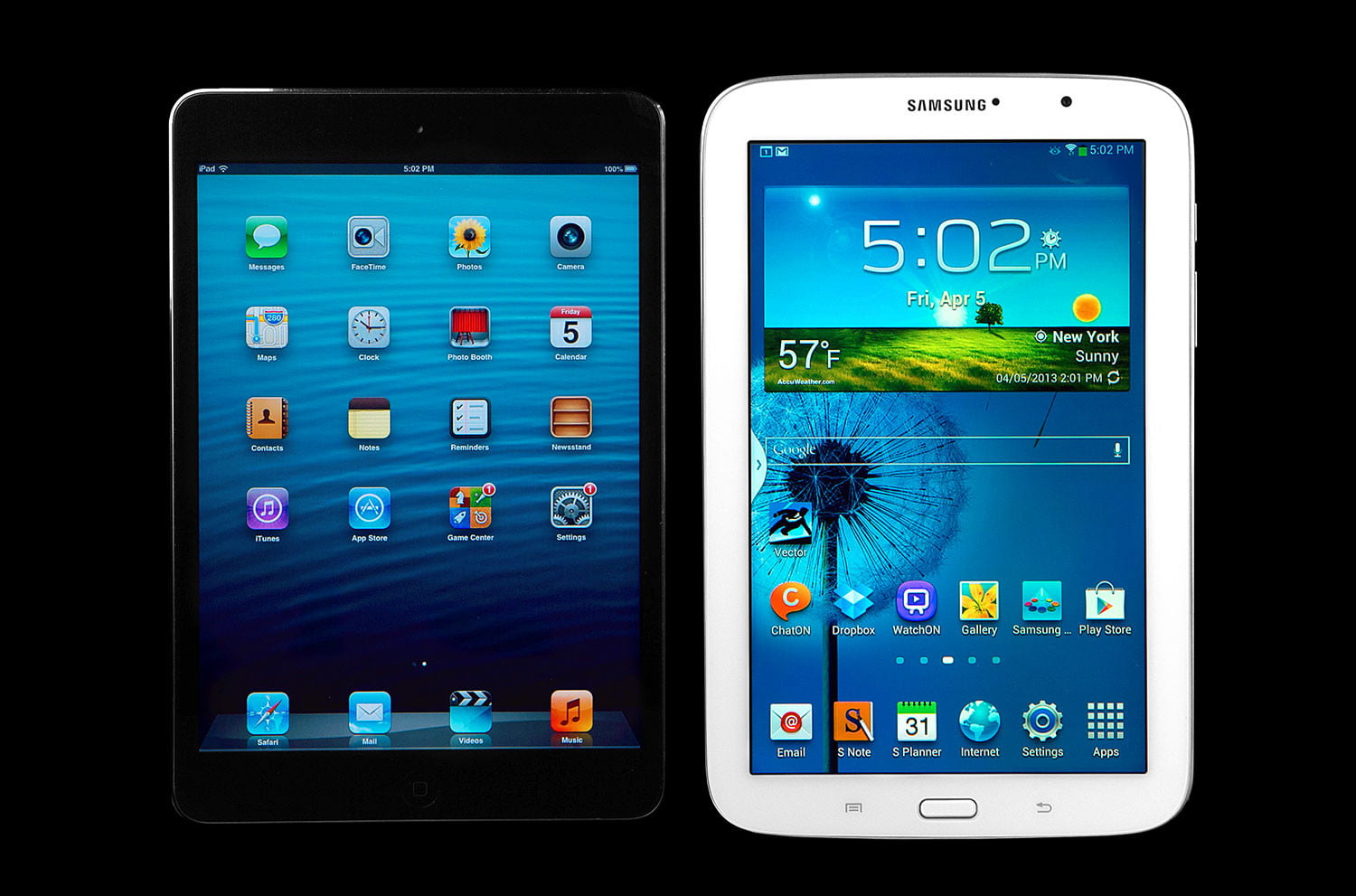 Samsung Note 8.0 vs iPad