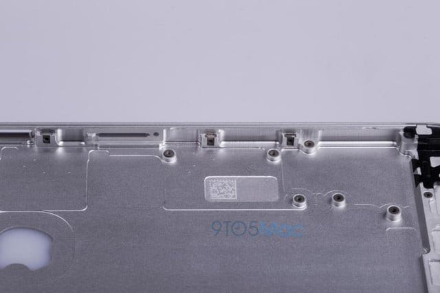 say hello to the iphone 6s leaked images of metal frame reveal no changes chassis 07