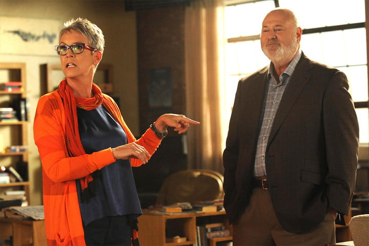 Jamie Lee Curtis and Rob Reiner  New Girl