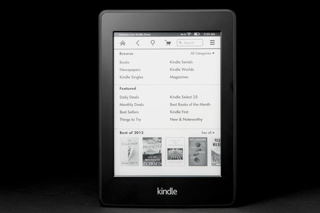 Kindle Paper White front books 2