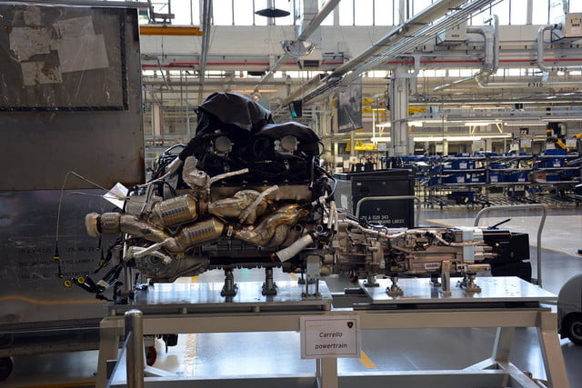 lamborghini factory tour pictures production process 0047