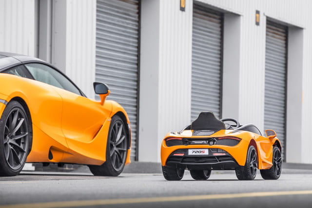 mclaren 720s ride on electrifies the kiddy car segment large 11070 mclaren720sride