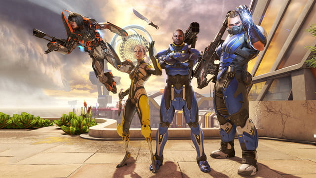 LawBreakers Review Characters posing for the camera
