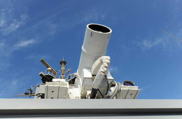 navy tests laser weapon system uss ponce laws1