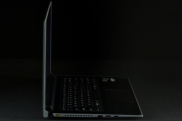 Lenovo Flex 14 left side profile