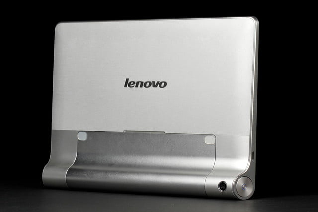 lenovo yoga tablet 10 tablets front angle upright