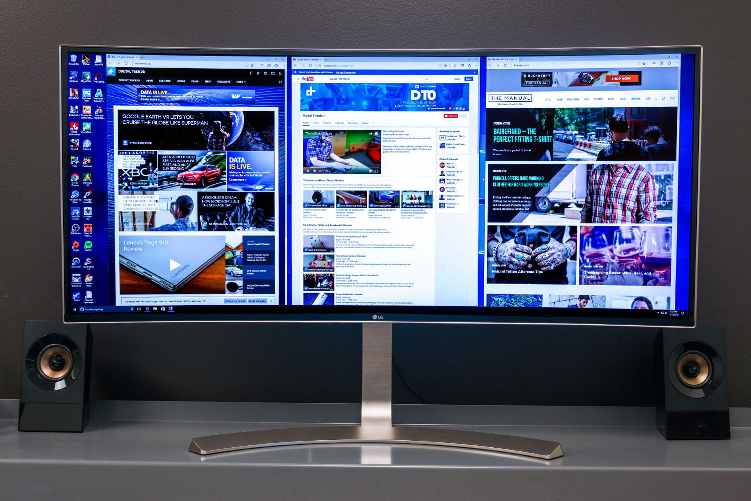 Lg 38uc99 Ultrawide Monitor Review Digital Trends