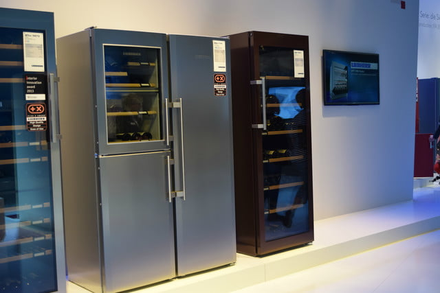 cool fridges from ifa 2015 liebherr wine fridge outside