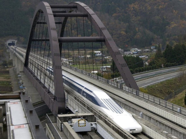 fastest train in the world maglev header