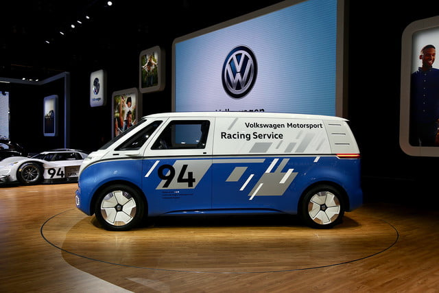 volkswagen id buzz cargo will report for delivery duty in 2022 mb vw carg race 3