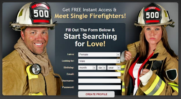 Police firefighter dating
