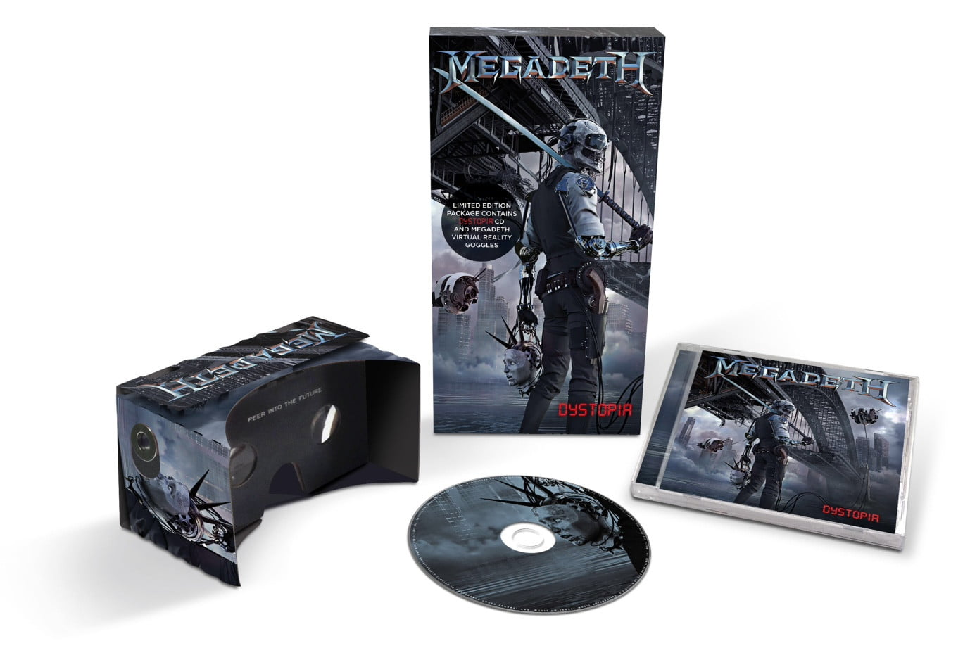 megadeth 39 s dystopia will feature a vr mini concert digital trends. Black Bedroom Furniture Sets. Home Design Ideas