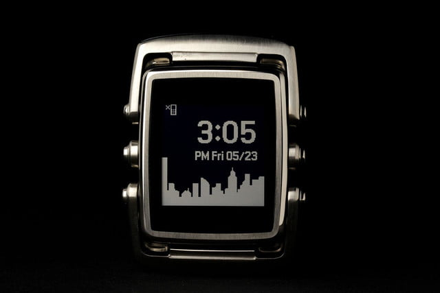 META Watch inverted face