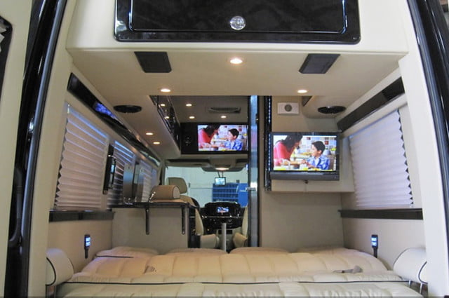 Mercedes Benz Sprinter Camper By Midwest Automotive